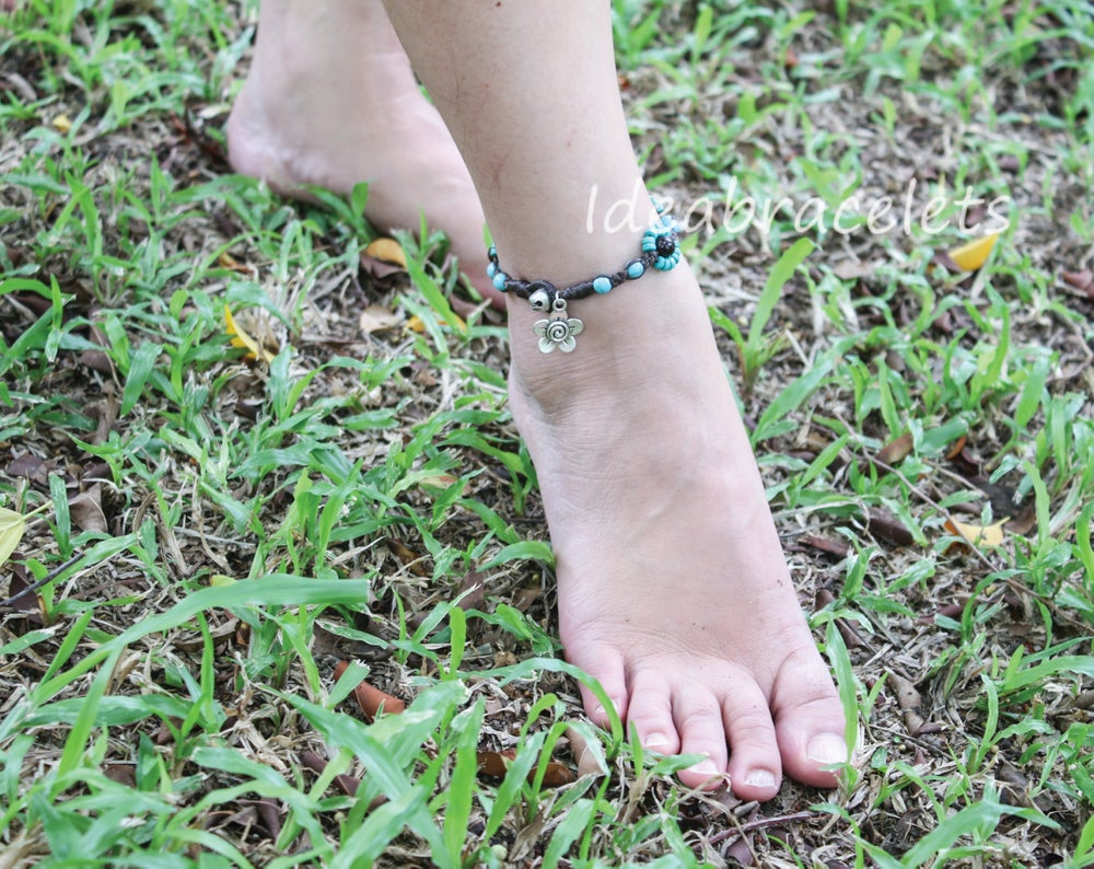 Image of Summer Turquoise Anklet