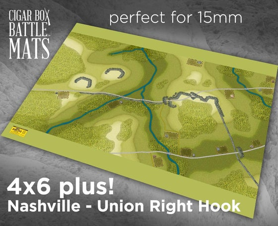 Image of The Battle of Nashville - A Union Right Hook - ADF - 4x6 plus #222
