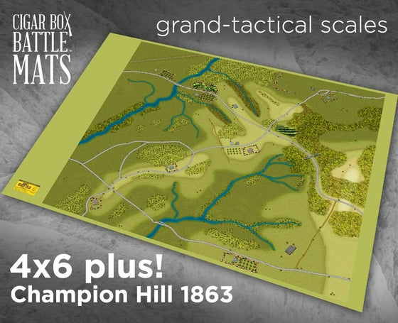 Image of The Battle of Champion Hill - ADF - 4x6 plus #220