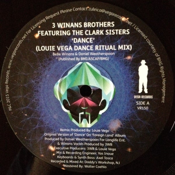Image of 3 WINANS BROTHERS/THE CLARK SISTERS-DANCE (LOUIE VEGA MIXES)