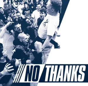 """Image of NO THANKS s/t 7"""""""