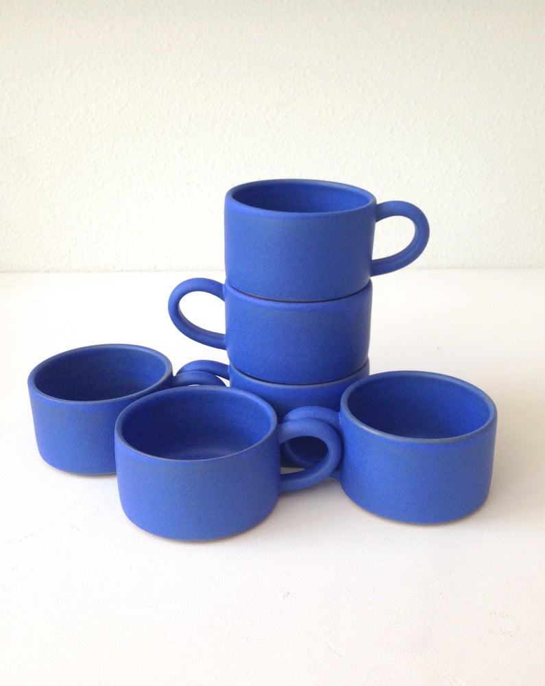 Image of blue mug
