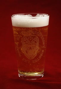 Image of Killogy Voodoo Skull Pint Glass- AWESOMENESS SALE!