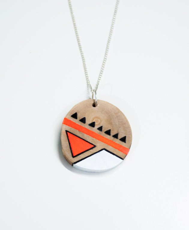 Image of Geometric Necklace