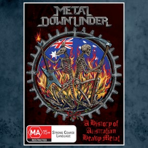 Image of Metal Down Under DVD