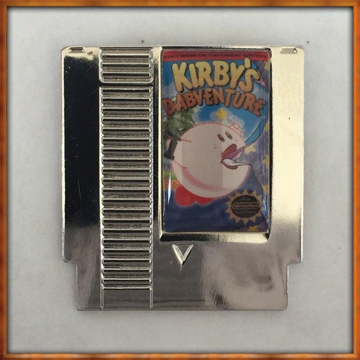 Image of Kirby's Dabventure Nitendank Pin