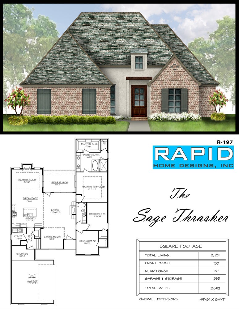 the sage thrasher 2120sf rapid home designs
