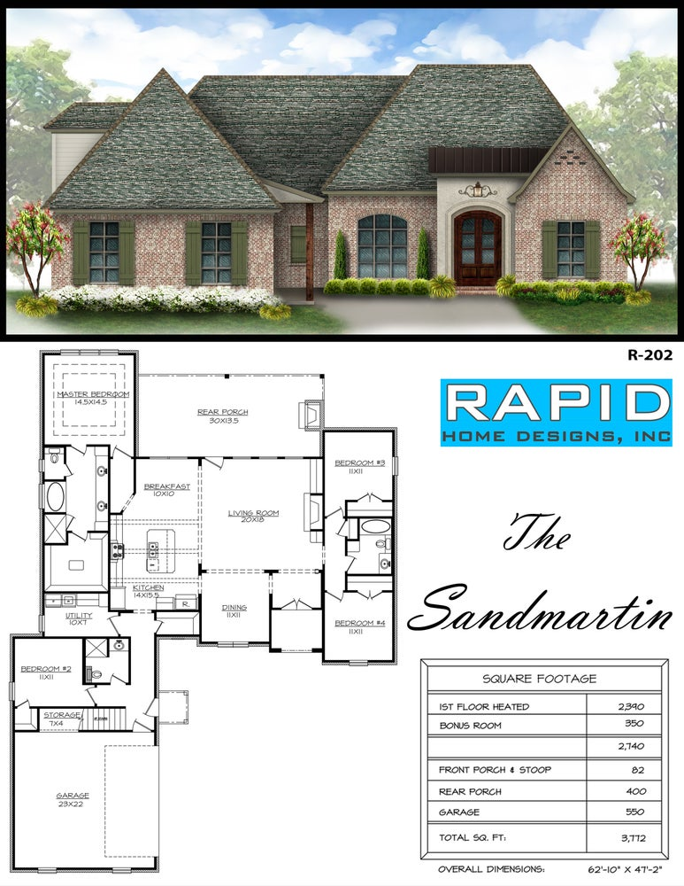 the sandmartin 2390sf rapid home designs