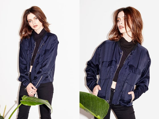 Image of Capulet Navy Bomber Jacket