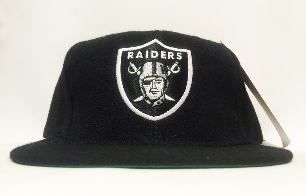 Image of Los Angeles Raiders Vintage Snapback by American Needle Wool
