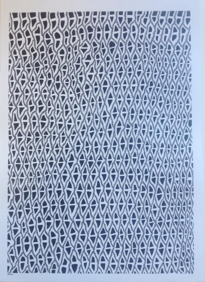 Image of Sliding Patterns Print
