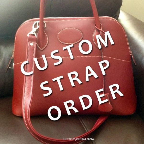 Image of Custom Replacement Straps & Handles for Hermes Handbags/Purses/Bags