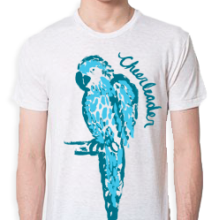 Image of White Parrot Shirt