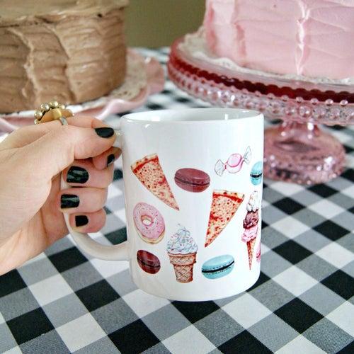 "Image of ""Fave Craves"" mug (11oz)"