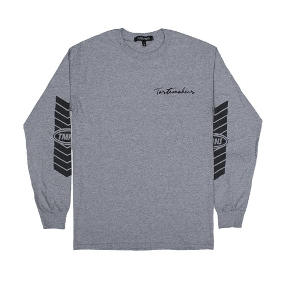 Image of Racer Long Sleeve Tee (Grey)