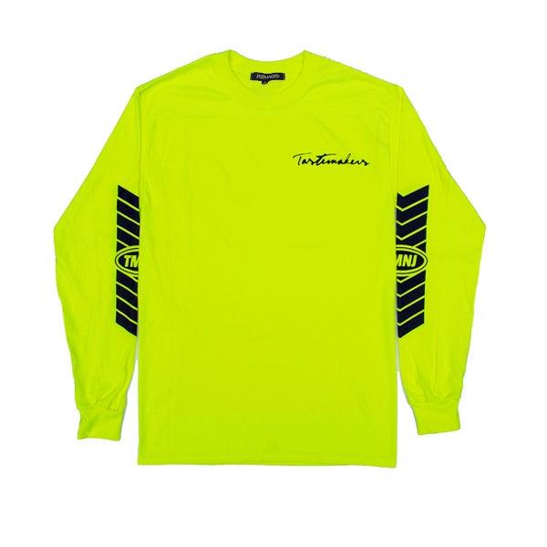Image of Racer Long Sleeve Tee (Neon)