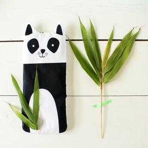 Image of Mia la Panda - bouillotte en graines de lin