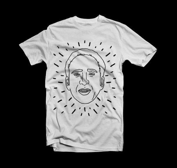 Image of Nic Cage T Shirt