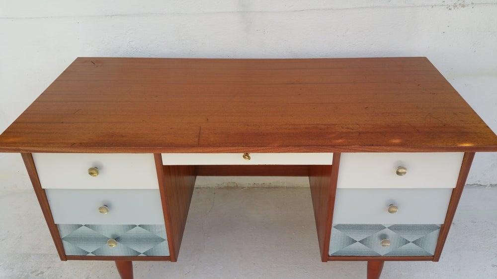Bureau customis style scandinave fibresendeco for Bureau style scandinave