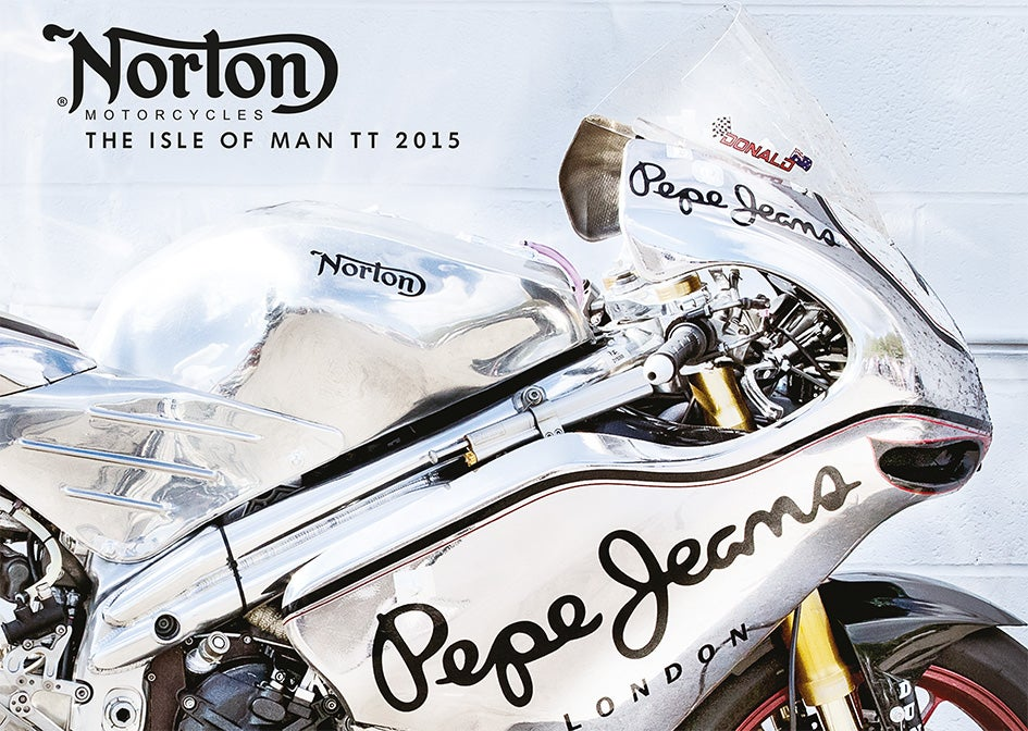 Image of Norton Isle of Man TT photography book