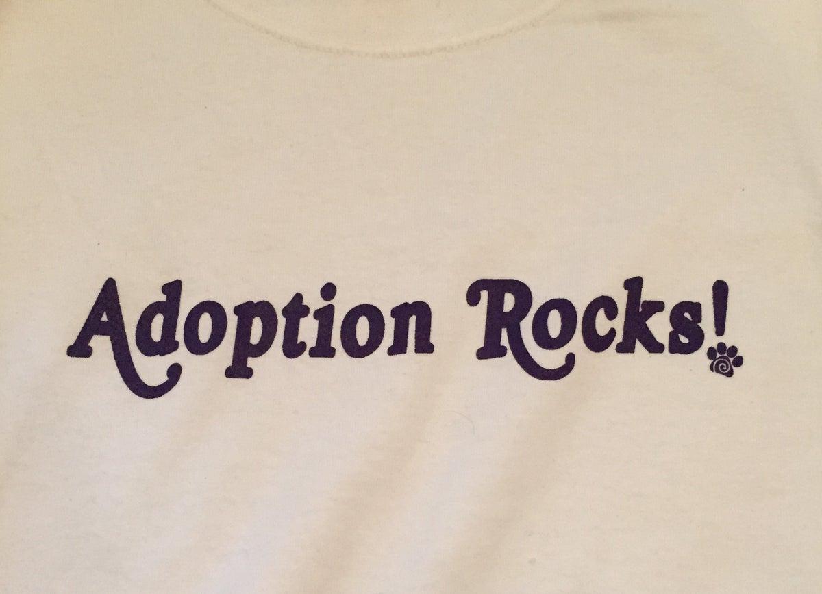 Image of Adoption Rocks! Kids T-shirt