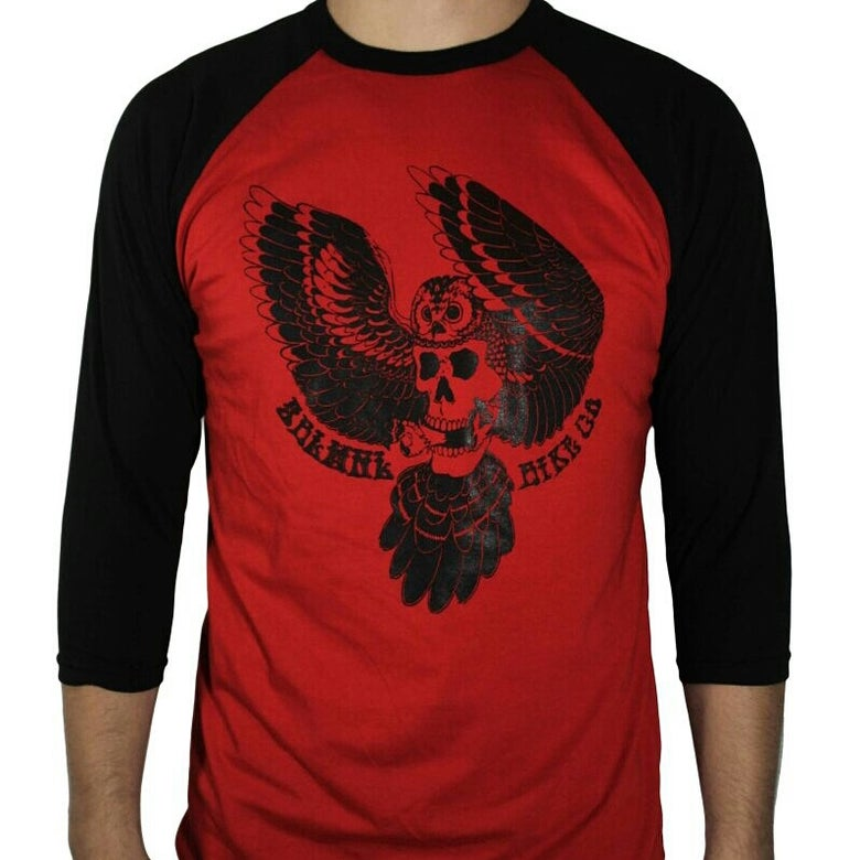 Image of Owl 3/4 sleeve shirt