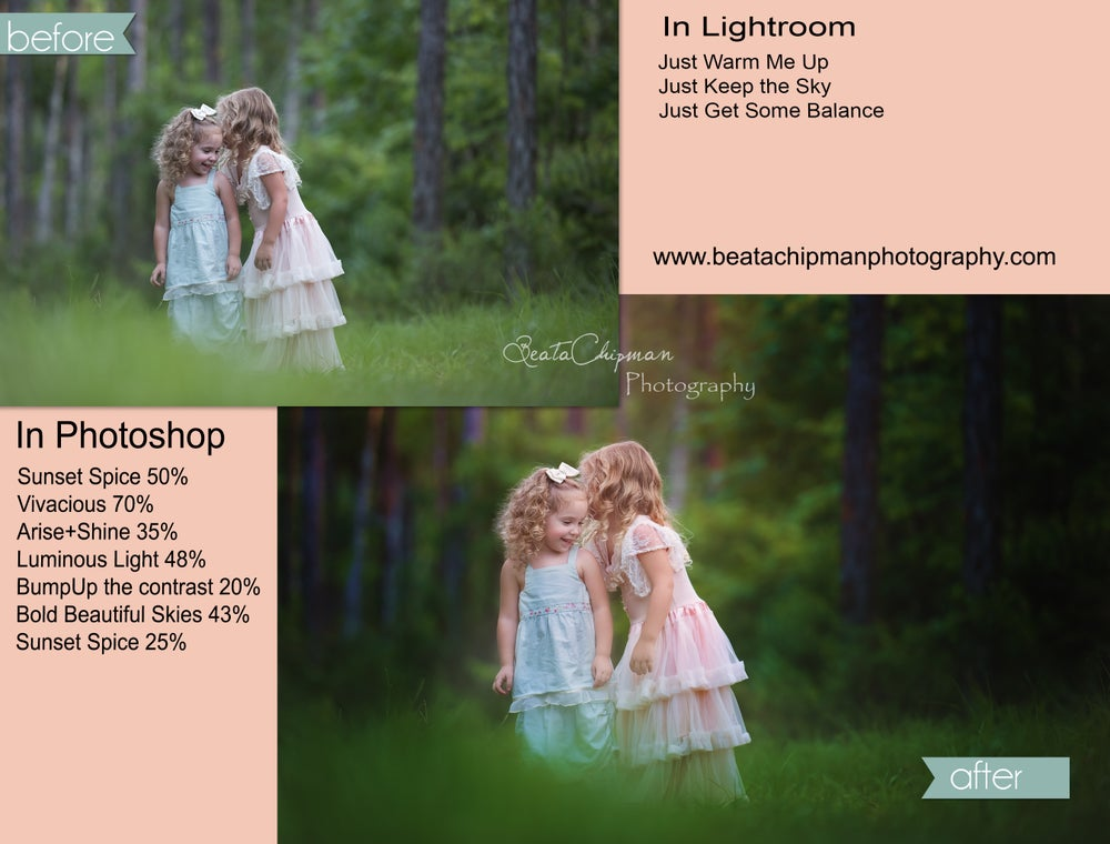 Image of Just the Photoshop User | Photoshop Actions + ACR Lush & Gulf