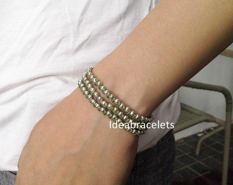 Image of Multi Layers Bohemain Macrame Bracelets - Green