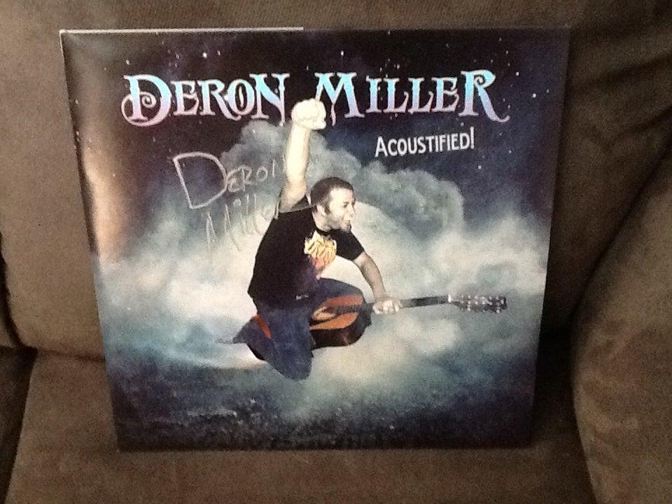 """Image of Deron Miller """"Acoustified!"""" autographed double LP vinyl! 50 copies"""