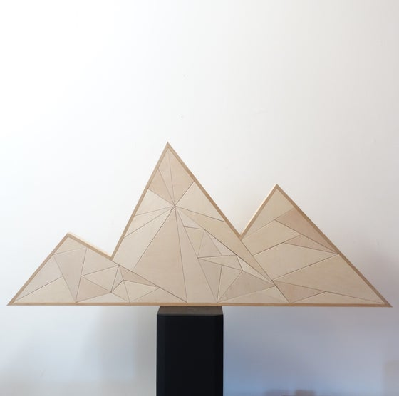 Image of 3 peaks wall piece