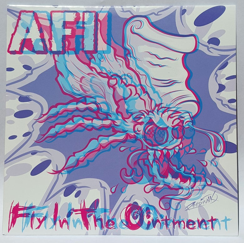 "Image of WEDGE RECORDS #1  AFI ""Fly in the Ointment"" 7"" 3-D Edition!"