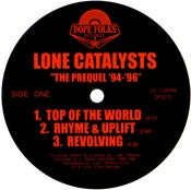 """Image of LONE CATALYSTS """"THE PREQUEL"""""""