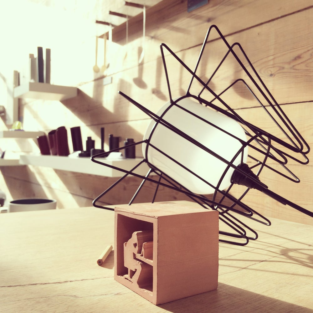 Image of 'Wired' Table Lamp by Katie Askwith.