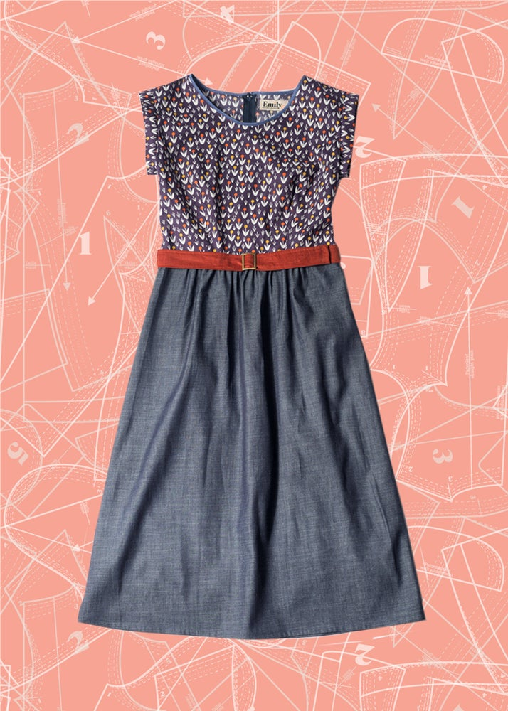 Image of Roxy Midi Dress: Dotty Blooms