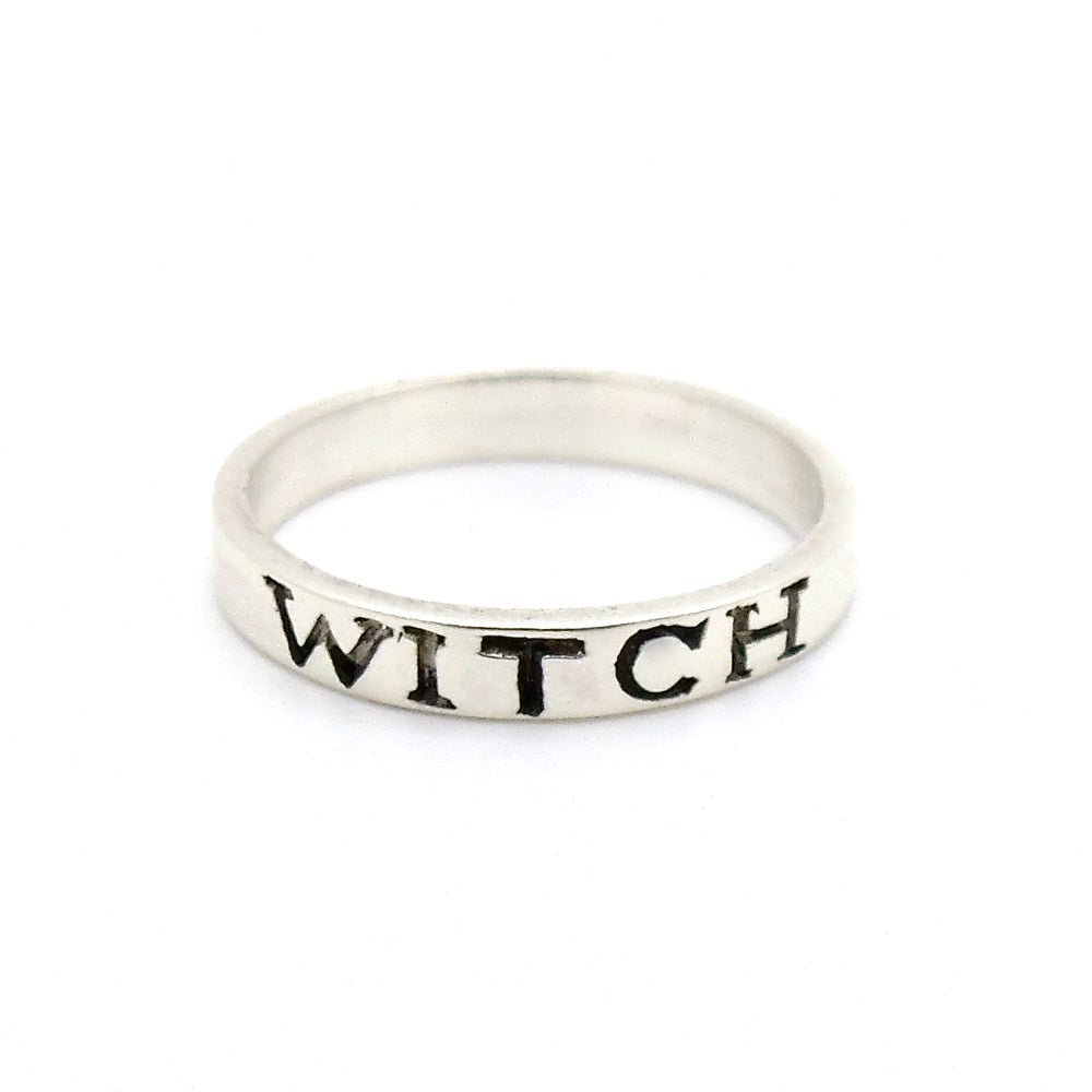 Image of Sterling Silver Witch Band