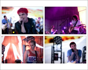 Image of My Chemical Romance   PNC Bank Arts Center 08.05.11 (Set of 4)