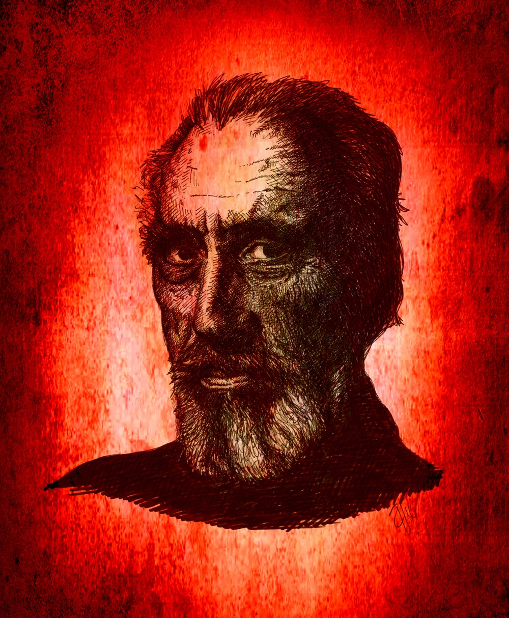 Image of Sir Christopher Lee (Colour)