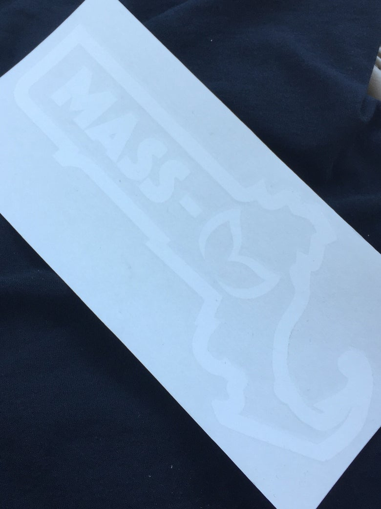 Image of Mass Mazda Decal