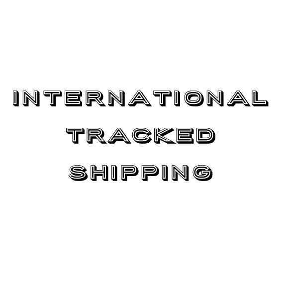 Image of International Tracked Shipping Upgrade