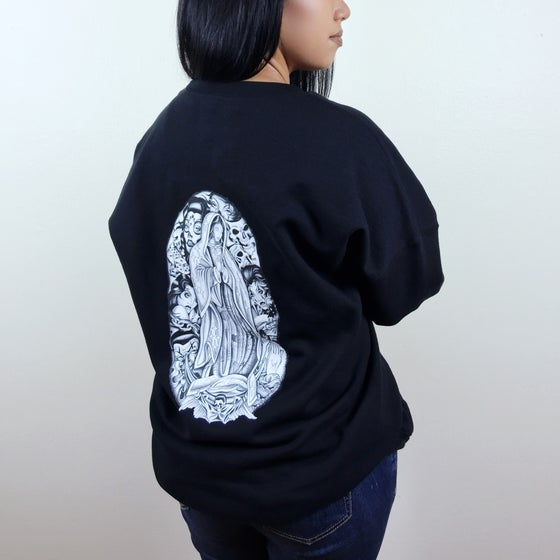 Image of Virgen Mary + Hina Collage Sweater