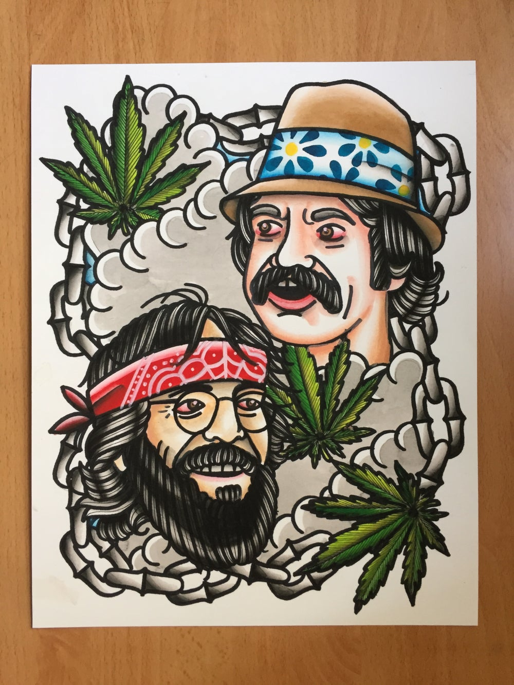 """Image of """"Up in Smoke"""" Print"""