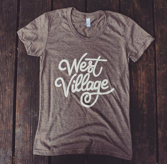 Image of West Village (Women's tee)
