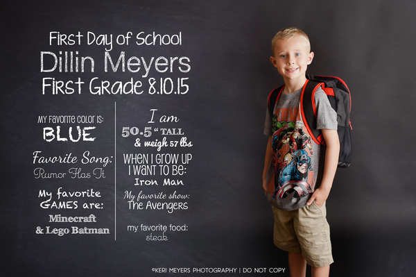 Image of KMP Back to School Template