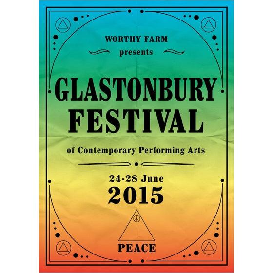 Image of Limited Edition Glastonbury Rainbow Days 2015