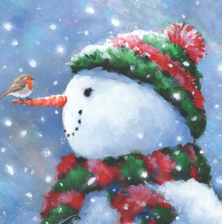 Image of 2015 Christmas Cards - Snowman