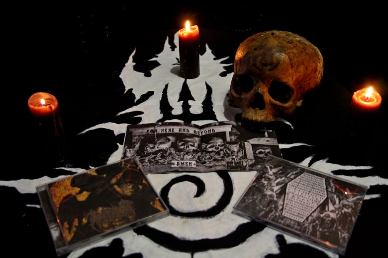 "Image of PSEUDOGOD ""Sepulchral Chants"" CD"