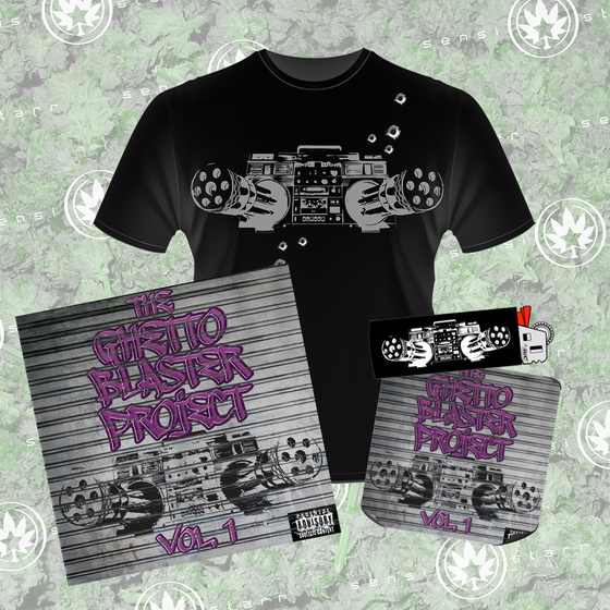Image of The Ghetto Blaster Project Vol. 1 Package 2