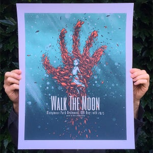 Image of Walk The Moon Marymoor Park 8/10/2015