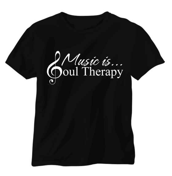 Image of Music is... Soul Therapy Men's Tee