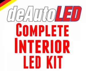 Image of Complete Interior LED Kit ERROR FREE Fits: MK7 Volkswagen Golf/GTI 2015+